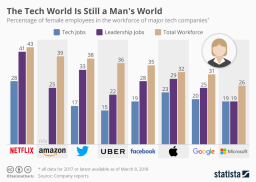 A Critical Issue For The Technology Sector: Not Enough Women Are Being Attracted To The Field
